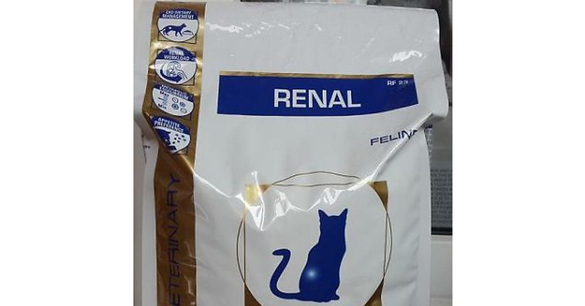 Корм royal canin renal rf23 4
