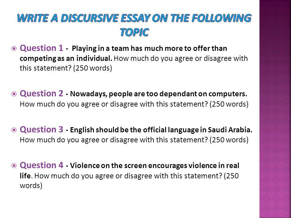 Write my discursive topics for essays