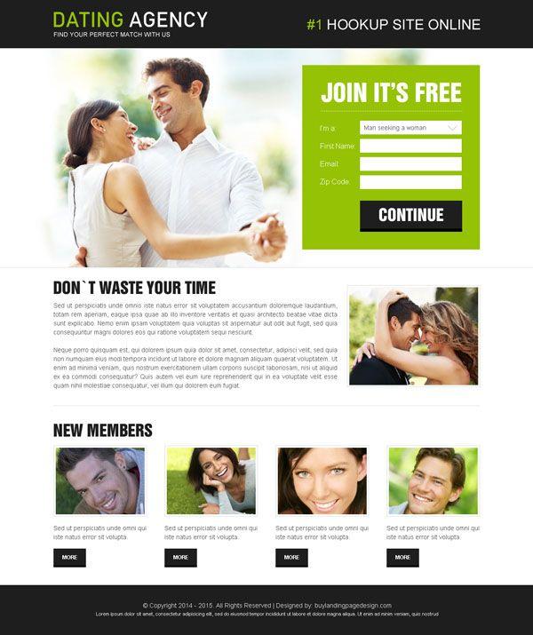 Best dating web design