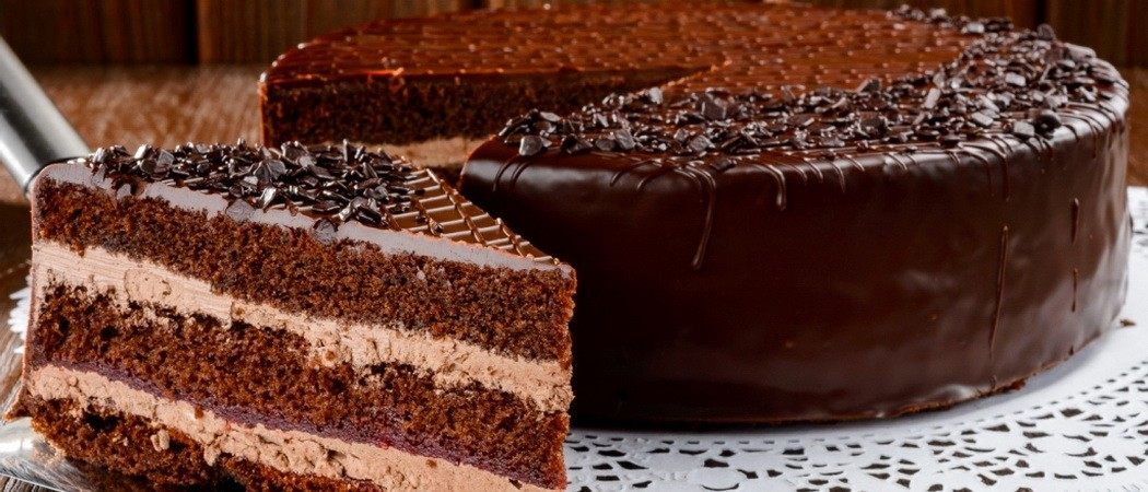 Рецепты шоколадных бисквитных тортов с фото