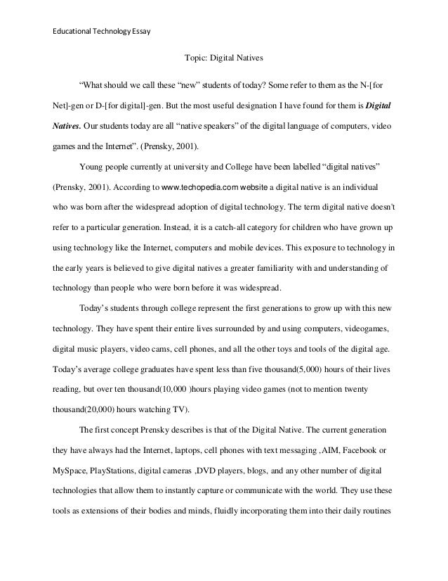 technology essays topics injaz technology essays topics