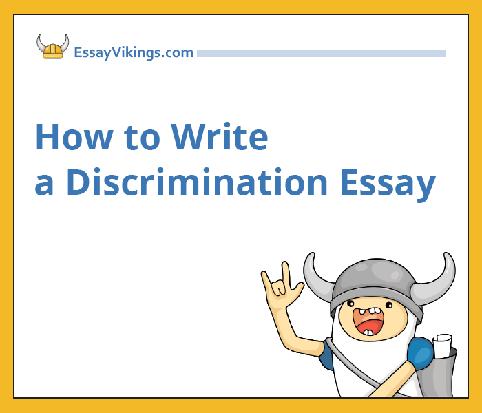 Wonder Of Science Essay My Personal Thoughts Intro To Discrimination In Our World Argumentative Essay Thesis also High School Sample Essay Write My Racism And Discrimination Essay Business Essay Example