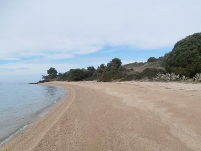 Виллу в остров Калликратия на берегу моря