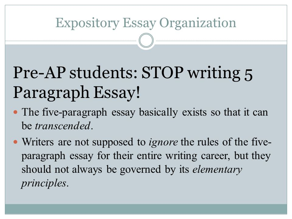 Paragraph Writing Examples: How to be a Great Writer