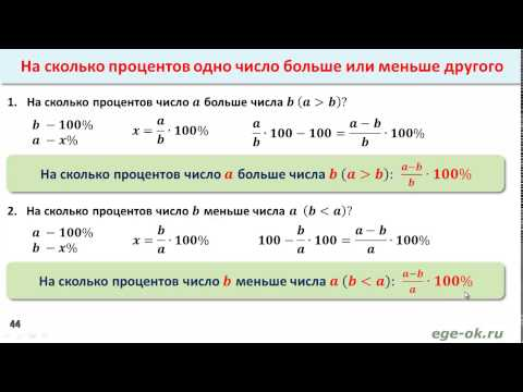 Решение задач по математике 7 класс на проценты с решением