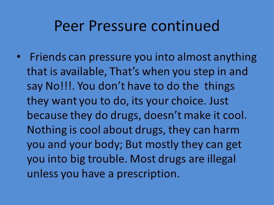 Buy Free Peer Pressure Essays