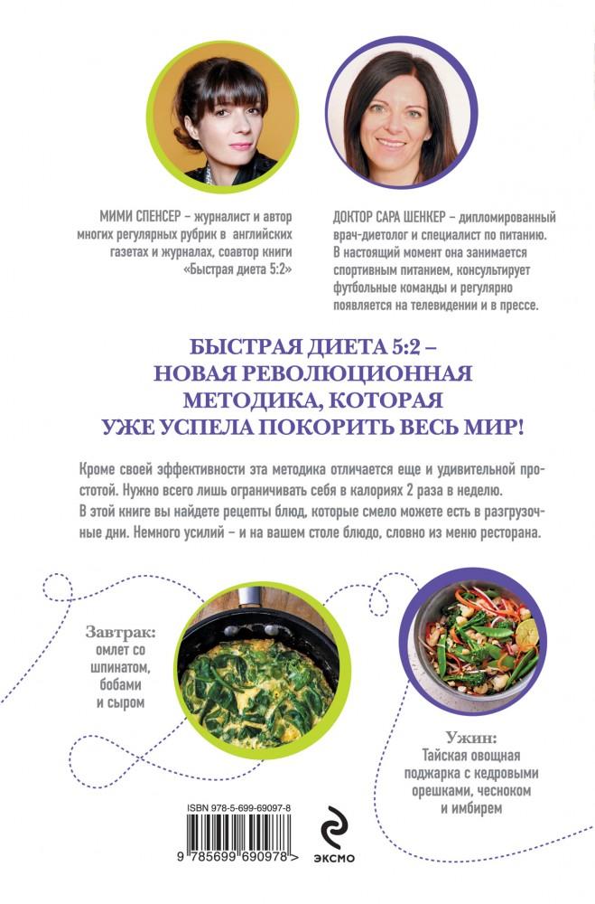 Срочная диета рецепты