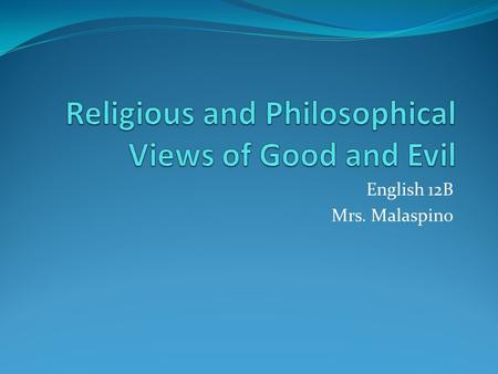 Essay about religion and society