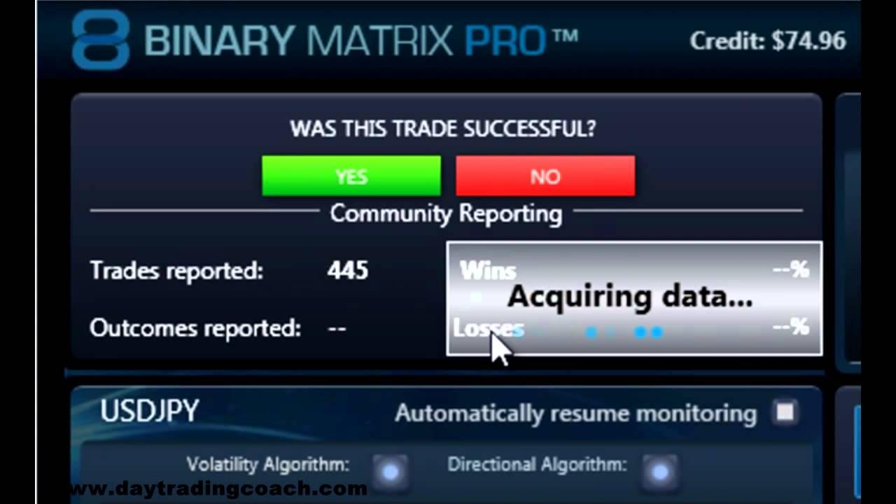 binary option software