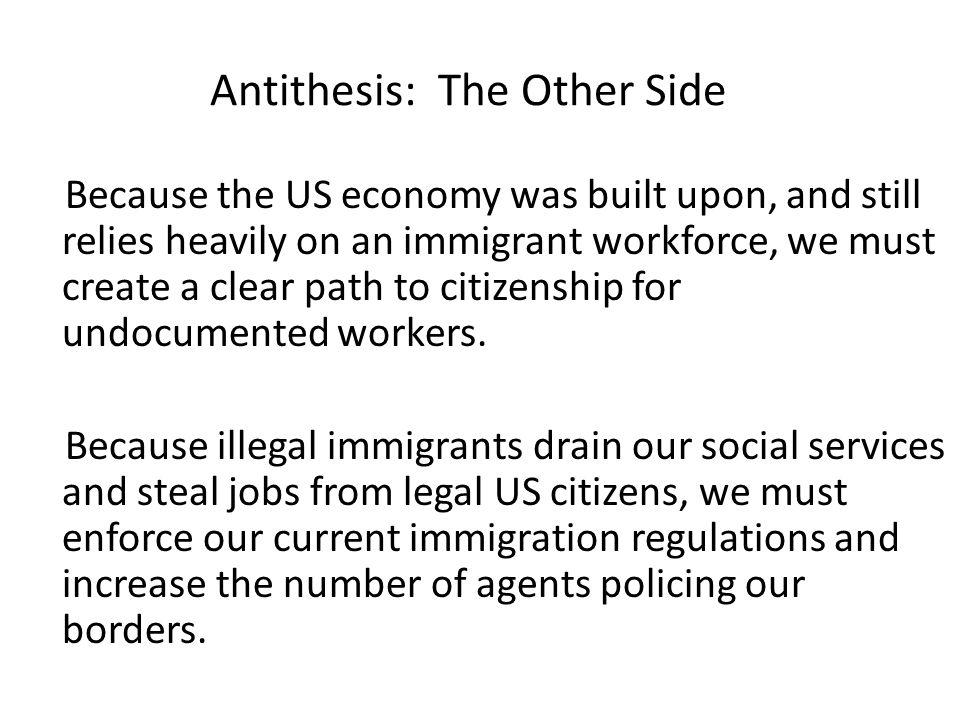 Immigration persuasive essay