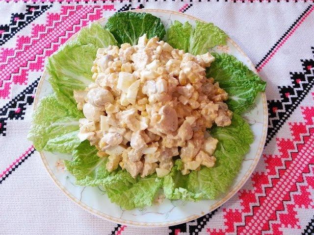 Салаты быстро вкусно и легко рецепты с фото простые и вкусные
