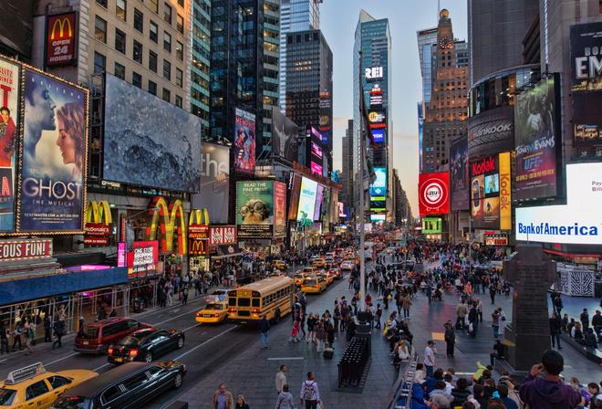 New York City Manhattan Printable Tourist Map - Sygic