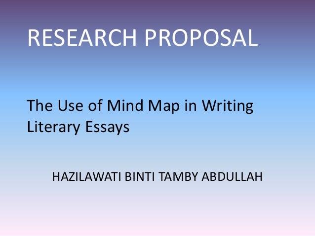 Writing your research proposal