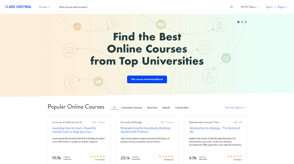 ,000+ Free Online College Courses From Top
