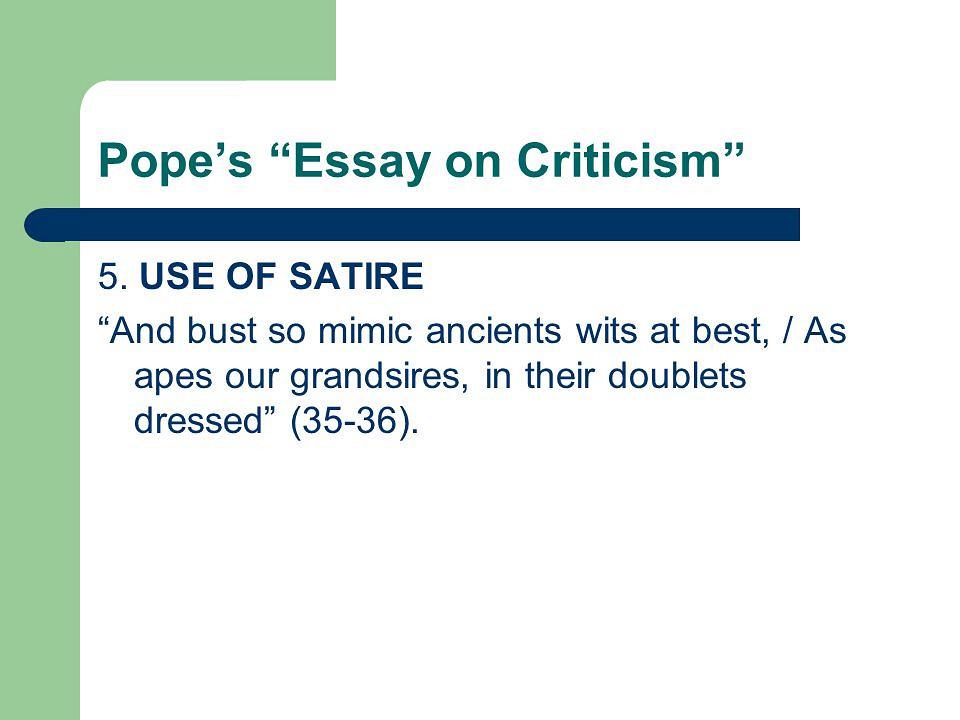 An essay on criticism summary – Essay Writer
