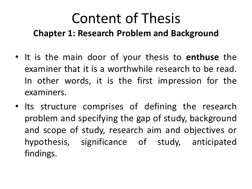 Guidelines for Writing and Presenting the Thesis - UCL