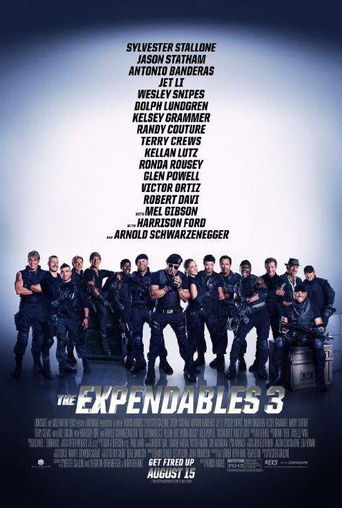 Watch THE EXPENDABLES 3 (2014) Online Free