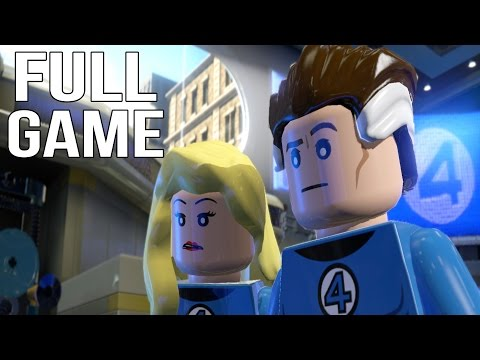Lego Marvel Superheroes Walkthrough - YouTube
