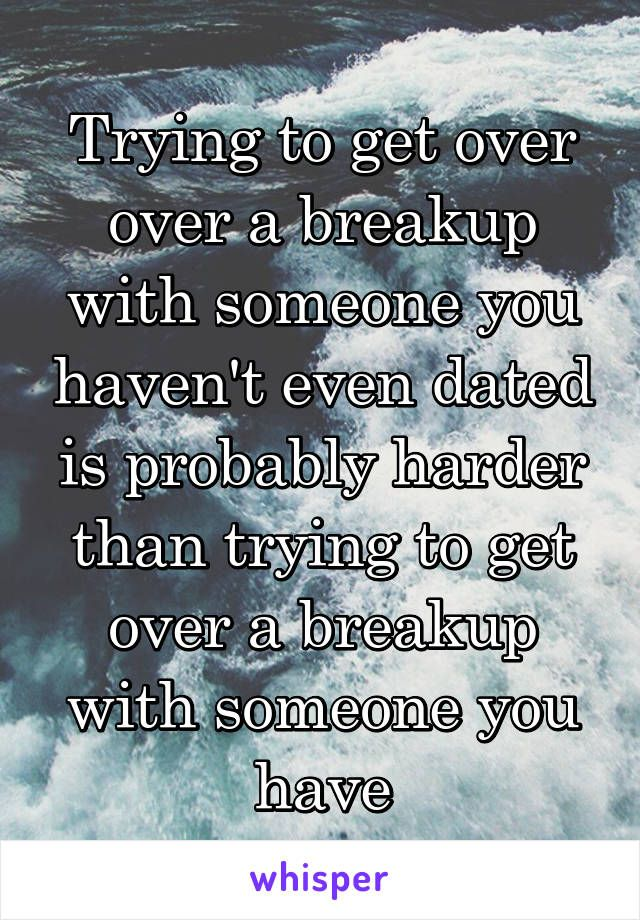 How Do You Break Up With Someone Your NOT Dating