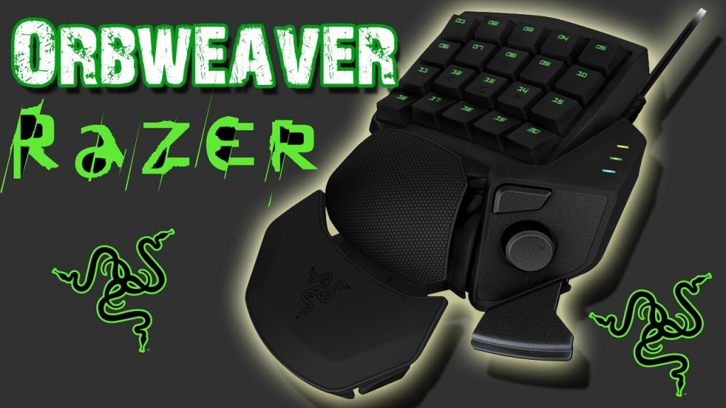 Razer orbweaver instructions