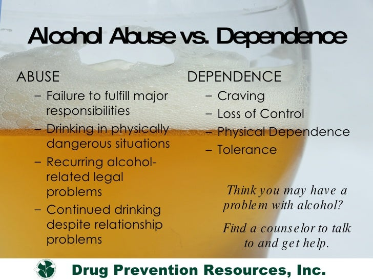 Alcohol Abuse: Signs, Effects, Interactions Addiction