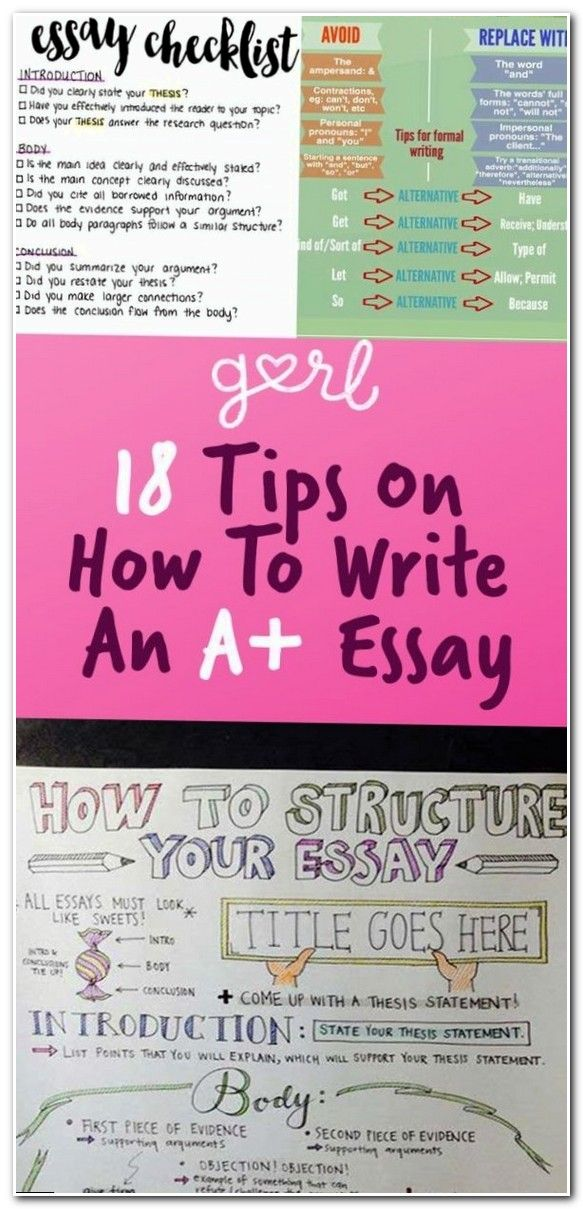 Essay writing tips high school