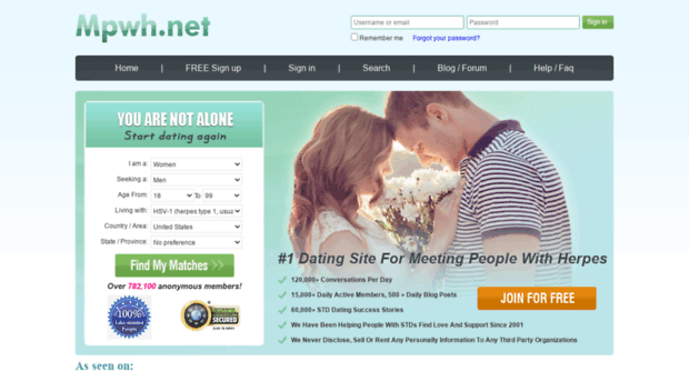 Herpes dating site uk reviews