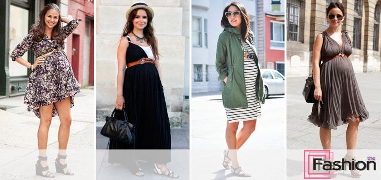 модная одежда для беременных фото