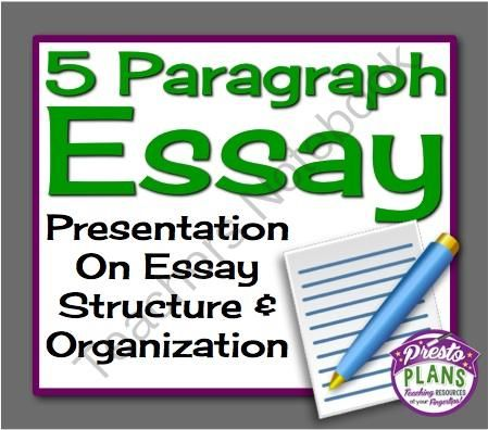 5 paragraph essay template for middle school