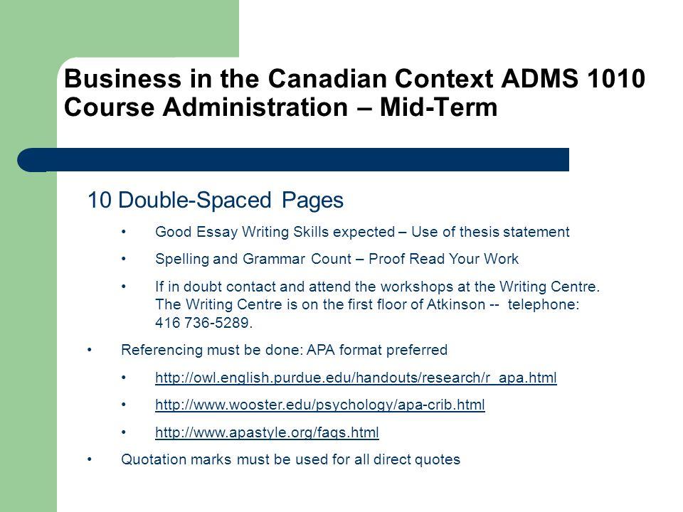 Canadian Studies Postdoctoral Fellowships