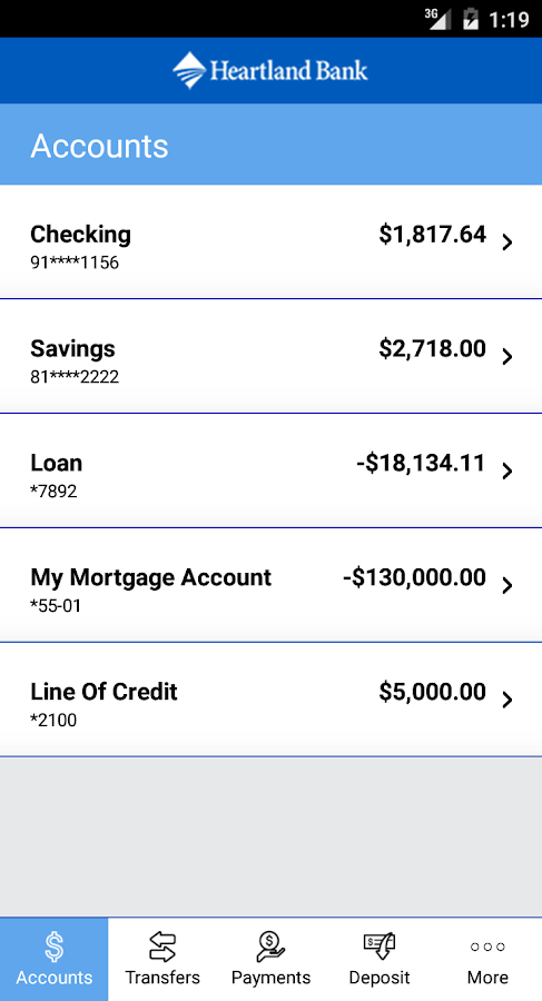 Mobile loans my account