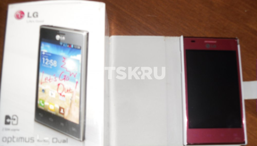 LG e 615 manual