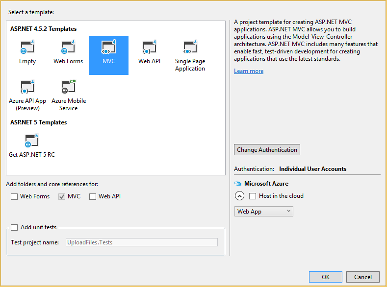 C# - Upload and Download Files From Folder Using ASPNet