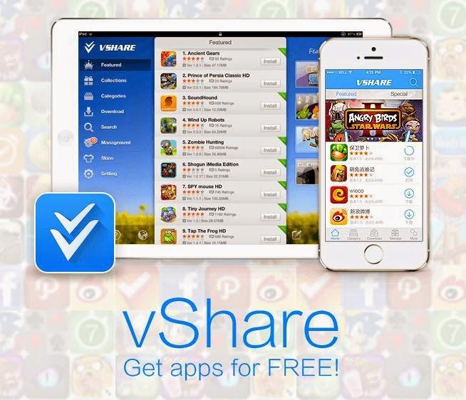VShare Helper (free) download Windows version