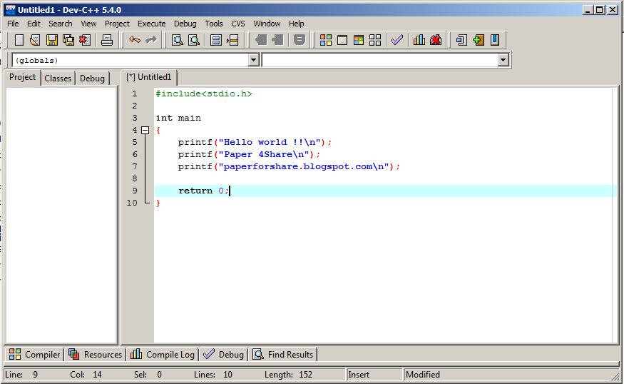 Online C Compiler - Online C Editor - Online C IDE - C