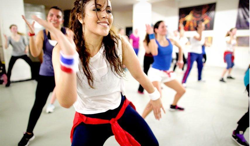Уроки зумба для похудения - Видео на
