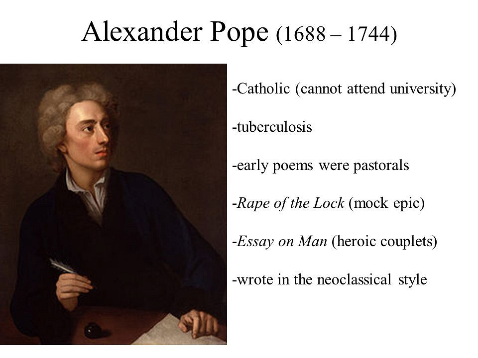 alexander pope essay on man human nature Essay on man by alexander pope epistle ii: of the nature and state of man, with respect to himself as an individual two principles in human nature reign,.