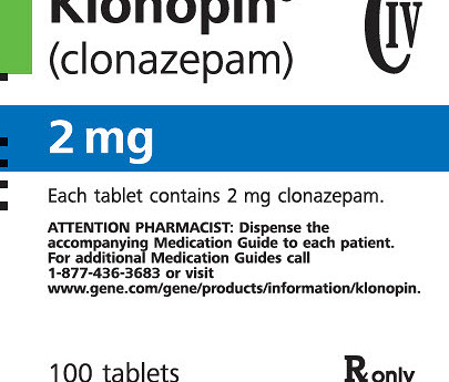 Clonazepam 2 mg withdrawal