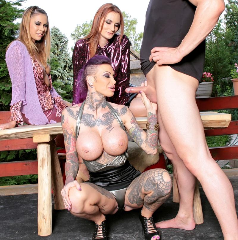 Lesbian training of hooker video