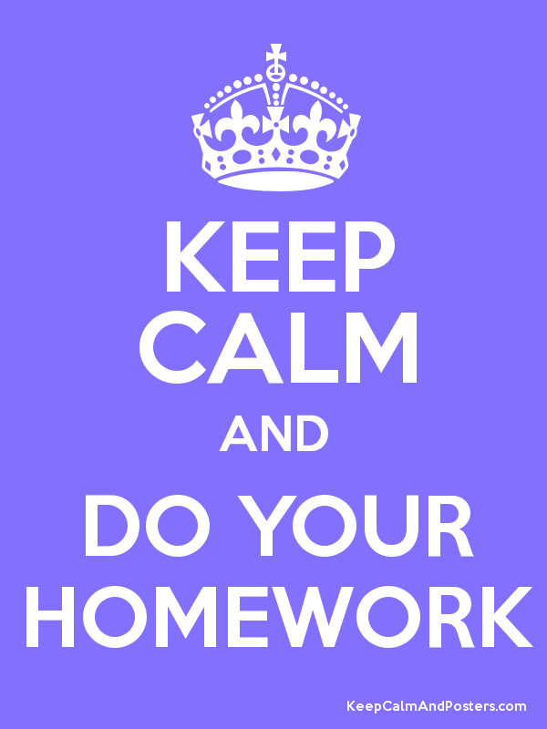 To Do Homework is Not a Problem Anymore!