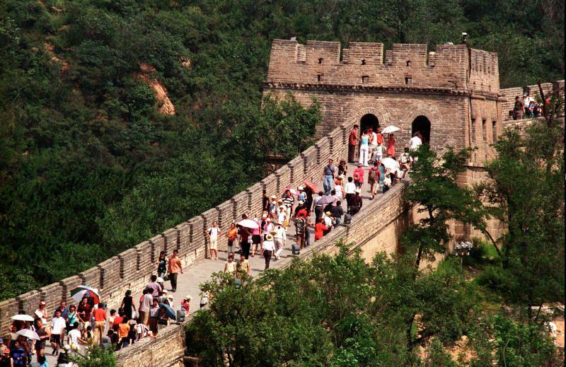 Русские туристы в китае