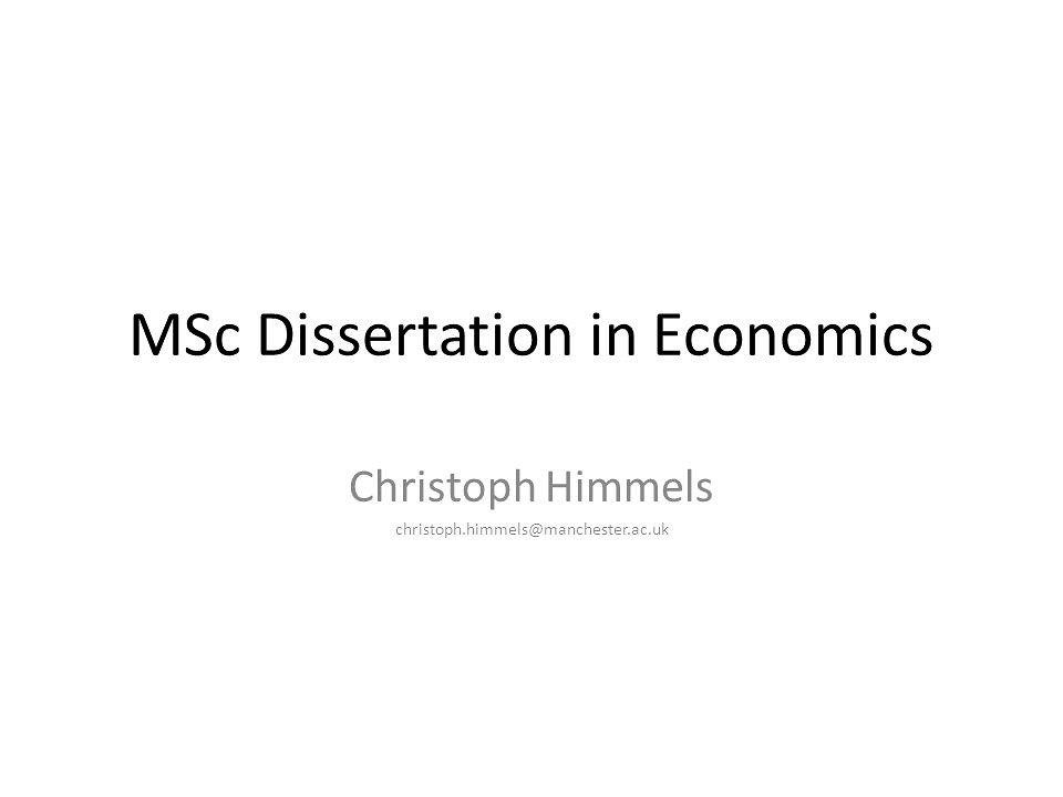 Finance, MSc - Heriot-Watt University