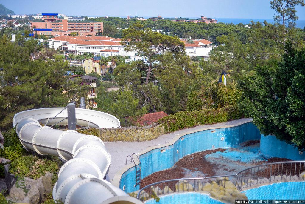 заброшенные отели в турции