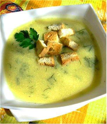 Суп из кабачков рецепты быстро