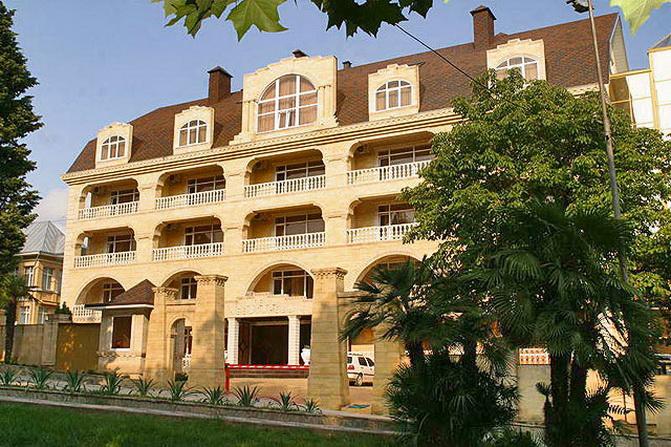 частные гостиницы в центре сочи