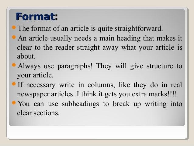 Essay writing format cbse