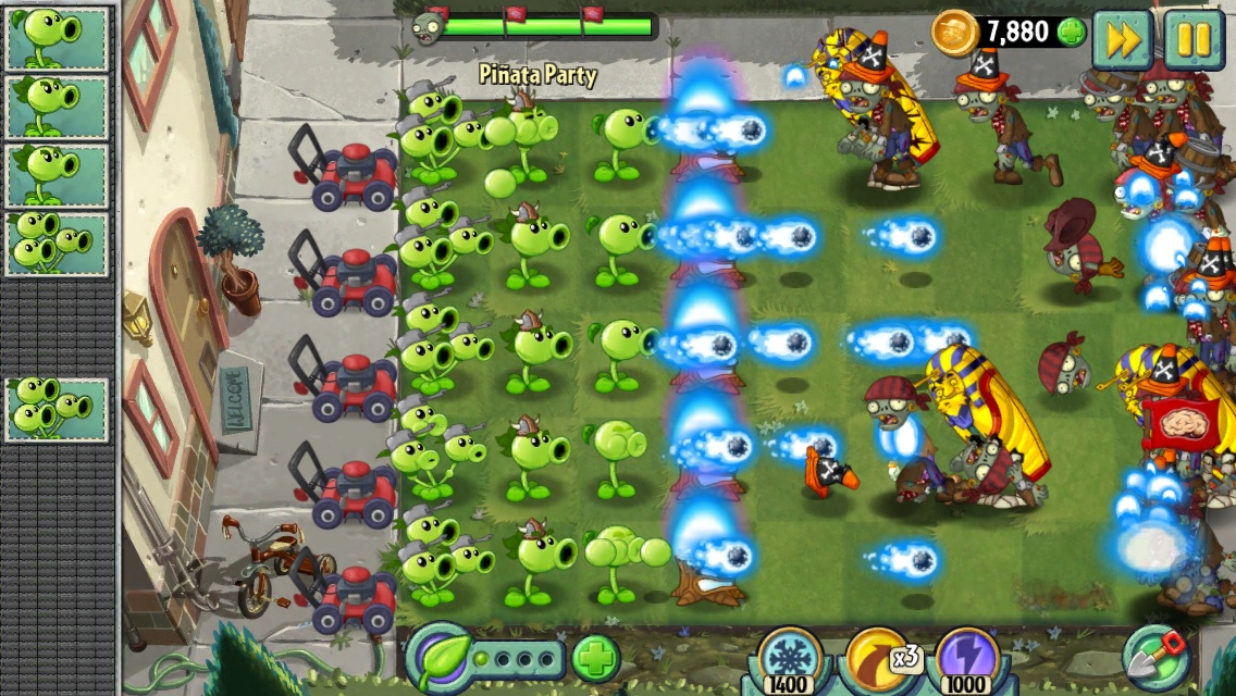Free Download Plant vs Zombies 2 for PC