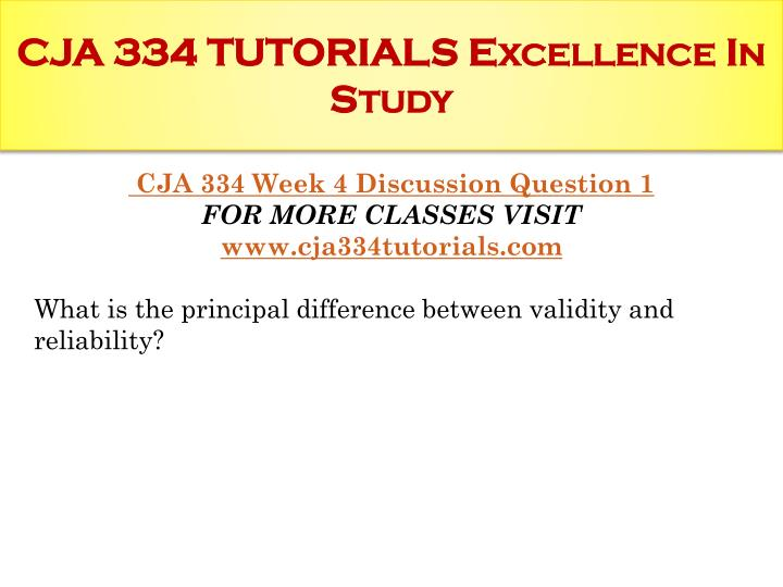 CJA 334 Week 1 Research Process and Terminology Paper