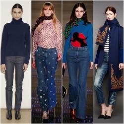джинси жіночі кльош від бедра