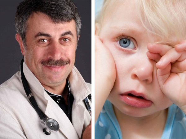 Что делать, если у ребенка болит ухо? Первая